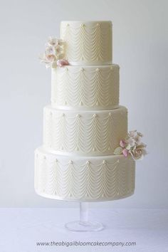 Wedding Cakes  :     Picture    Description  Featured Cake: The Abigail Bloom Cake Company www.theabigailbloomcakecompany.com/; Wedding cake idea.    - #Cake https://weddinglande.com/planning/cake/wedding-cakes-featured-cake-the-abigail-bloom-cake-company-www-theabigailbloomcakecompany-com-18/