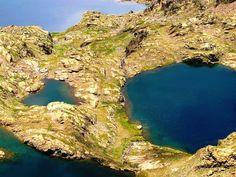 Parc national du Mercantour, Lac derrière la Croix