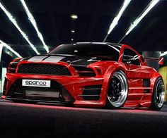 OMFG! Sorry for the textabrev! This is incredible. 12' Mustang custom #Cars #Speed #HotRod