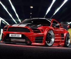 12' Mustang custom