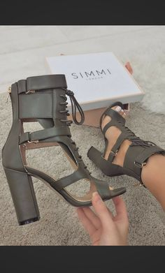 "The ""Frankie"" Heels from Simmishoes"