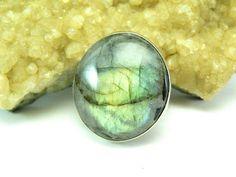 Labradorite Ring Labradorite Jewelry Rainbow Ring Gemstone
