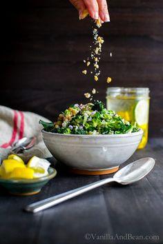 Broccoli Slaw with Golden Raisins and Walnuts