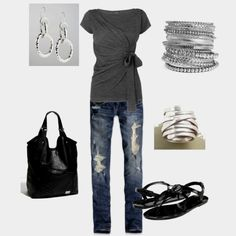 Grey+Black+Silver=<3 http://www.polyvore.com/love_this/set?id=42249281