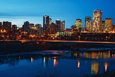 Edmonton, Alberta - - > A big and busy Canadian city home to of course...West Edmonton Mall! :)
