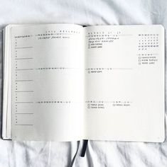 Minimal Weekly Bullet Journal Layout Ideas