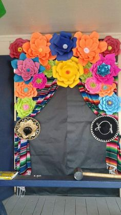 Hispanic Heritage Door Decor By Anita Minguela Classroom