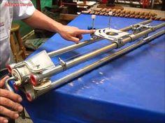 Maquina para hacer espirales-Partes y funciones Parte  2 de 2-Arte en Torno - YouTube