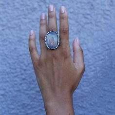 Silver Forest Tree Ring