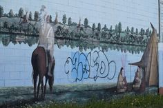 Street Art - So I Was Thinking Rail Car, Urban Art, Creative Art, Graffiti, Street Art, Horses, Animals, City Art, Animales