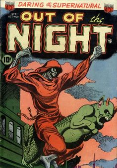 Out of the Night, Pre-code horror comics