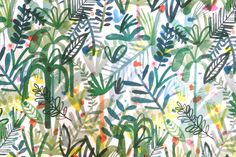 Naive jungle + Felt-tip pen = Charlotte Rounce