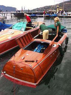 re-pin by #seabuddy  #classicwoodboat  First Riva Ariston