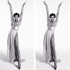 Yaya DaCosta as Eartha Kitt!