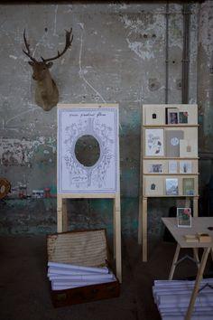 Foto: Marjoleine van Kalken  Presentation boards on the 1001 lichtjes fair in june 2015