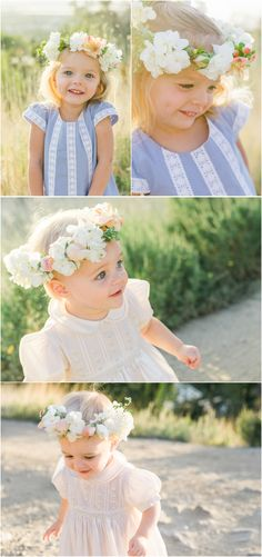 child portraits, flower wreaths, utah photographer, mountains, grass Karen Richards, Child Portraits, Flower Wreaths, Utah Photographers, Grass, Baby Kids, Flower Girl Dresses, Babies, Mountains