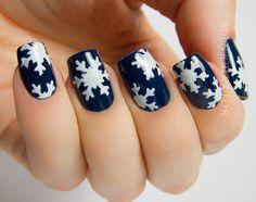 manicurator: Digit-al Dozen's Holiday Week - Snowflake Nail Art with OPI