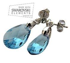 Pendientes Swarovski Elements NICE TEAR BIG