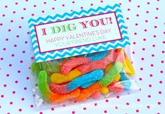 I Dig You printable valentine by Bloom Designs Online!