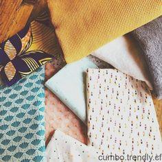 Sélection de tissus pour latelier lingettes de demain  #tissusaddict # Bread, Couture, Fabrics, Brot, Baking, Breads, Haute Couture, Buns