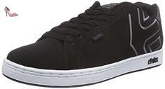 Etnies Fader, Sneakers Basses Homme, Gris (Black/White/Grey),