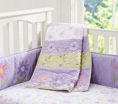 Daisy Garden Nursery Bedding #PotteryBarnKids , #bedding #daisy #garden  #nursery #