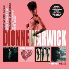 Dionne Warwick - Presenting Dionne Warwick/Anyone Who Had a Heart/Make Way for Dionne Warwick/The Sensit