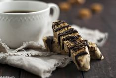 salted caramel chocolate biscotti - Jelly Toast