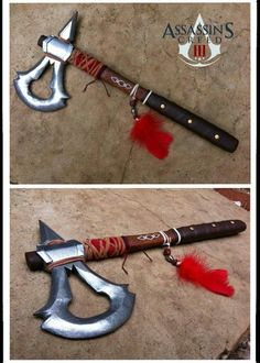 DIY Assassin's Creed tomahack