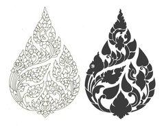 Billedresultat for Traditional thai line drawings Khmer Tattoo, Thai Tattoo, Maori Tattoos, Tribal Tattoos, Indian Prints, Indian Art, Traditional Paintings, Traditional Art, Angkor