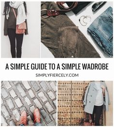 Inspired by minimalist style but struggling to create a simple wardrobe? Here's a simple way to make it work for you. #minimalism #simpleliving