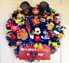 Add Excitement with the Disney Vacation Countdown Wreath