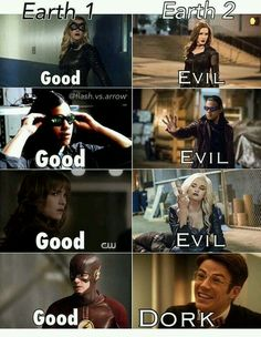 Everyone's evil except Barry.