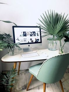 6 Chic small offices that will help you save space in your dreamy home