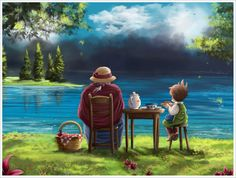 picnic by noctis07.deviantart.com on @deviantART