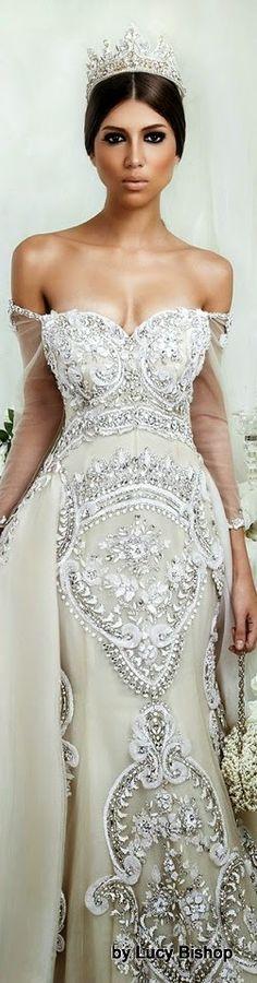 Modern fairytale / Cinderella / karen cox.  DAR SARA WEDDING LOOKBOOK 2014