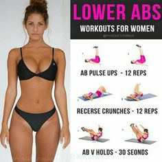 Lower abs workout for women! No gym required, you can do these exercises wherever you want, whenever you want. Save this, it will come handy. Follow us (@physiquetutorials) for the best daily workout tips  ⠀  All credits to respective owner(s) // @boutinela @creatorofthings Tag a friend who'd like these tips