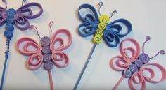 Manualidades con Goma Eva: mariposas de colores