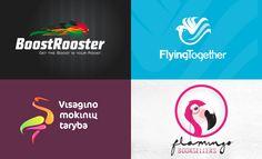 50 Beautiful Bird themed Logo design examples for your inspiration. Follow us www.pinterest.com/webneel