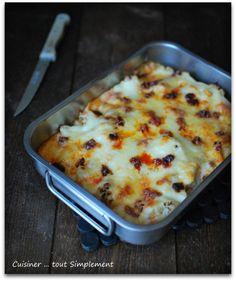 Gratin de Chou-Fleur Comté - Chorizo - Cuisiner... tout Simplement, Le Blog de cuisine de Nathalie