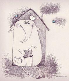 Cute Illustrations_Юлия Лохина