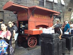 The Wizarding World of Harry Potter at Island of Adventure Orlando FL  Butterbear