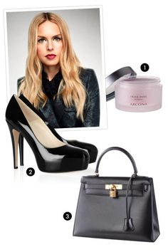 """The powerhouse stylist and designer, whose show is debuting on February 13, describes her must-haves. 1. Arcona Triad Pads """"I take them with me wherever I go—they are the perfect touch up after a long day of work or travel."""" $30; amazon.com 2. Brian Atwood Maniac Pumps in Black Leather """"They are crucial!"""" $595; net-a-porter.com 3. Black and Gold Hermès Kelly 40 Bag """"It's a classic. Plus, it holds everything."""""""