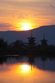 Nara Yakushi-ji Temple , JAPAN