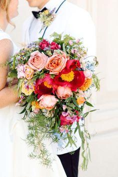 A Bright & Beautiful Utah Wedding