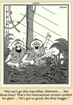 """The Far Side"" by Gary Larson Cartoon Jokes, Funny Cartoons, Funny Comics, Gary Larson Comics, Gary Larson Cartoons, Far Side Cartoons, Far Side Comics, Wtf Funny, Funny Jokes"
