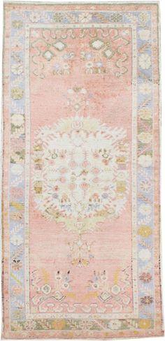 Vintage Oushak Rug, No. 15986 | Galerie Shabab