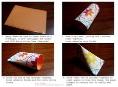 Treats -Sour cream paper fold