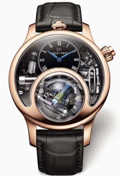 Charming Bird Luxury Watch by Jaquet Droz