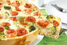 Corsica-Shop: Recipe, Pie with broccoli and tomatoes.